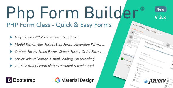 PHP Form Builder - Quick Start Guide